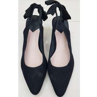 H&M sling back ribbon shoes