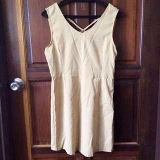 ⭐️ X-back Chiffon Dress