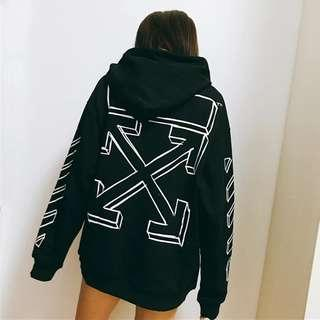 Off-White c/o Virgil Abloh Marker Arrows Pullover Hoodie