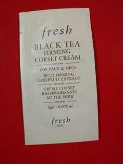 Sample試用裝 FRESH紅茶緊緻塑顏面霜 BLACK TEA FIRMING CORSET CREAM