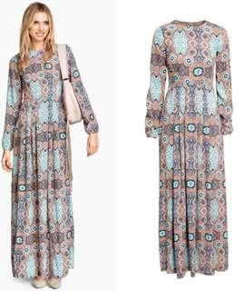 H&M Boho Long Dress