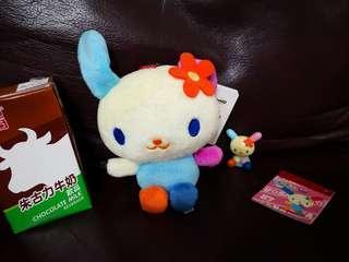 Hello Kitty U. SA. HA. NA公仔等共3件(清....