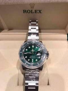 勞力士 Rolex 116610 潛航者 綠水鬼 V7 V8