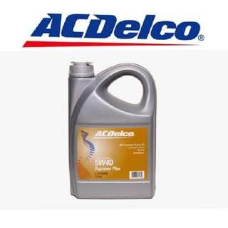 AC Delco 5w40 Fully Synthetic Motor oil - Minimum 2