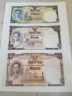 泰王之生平 泰國 連體鈔 紀念幣