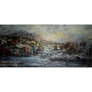 董仙舟大師 -「菊花島寫生系列之二」油畫