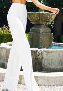 PLT White Pants