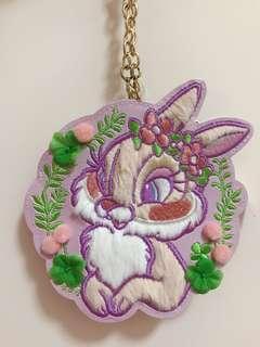 全新絕版miss bunny 東京迪士尼復活節出品卡套