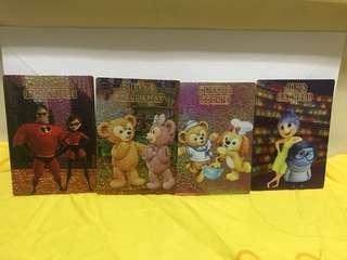 迪士尼奇妙處處通會員專享Duffy家族與Pixar好友角色故事卡