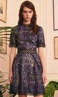 Whole9yards Black organza sleeveless dress