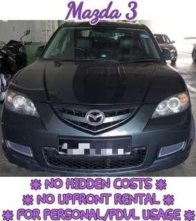 Mazda 3 1.6 Sedan Auto
