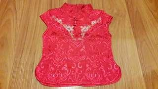 #OCT10 3yo Girl's Cheongsam Top