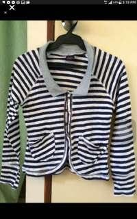 Stripes Cotton Blazer