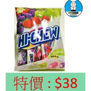 🚚 [MIT餅乾屋]森永 HICHEW 嗨啾 軟糖 袋裝 (綜合水果口味) 130g 糖果