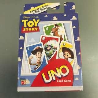🚚 UNO Card Game Mattel Disney Pixar Toy Story Authentic