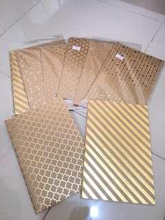 Handmade Blank Notebooks - 10 Leaves