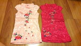 2yo Girl's Cheongsam (RM20 for 2)