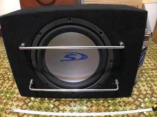 ALPINE TYPE S12 車用重低音+擴大機+電容