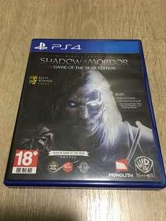 PS4 Shadow Of Mordor - Game Of The Year Edition