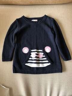 🚚 Zara小童純棉保暖針織毛衣