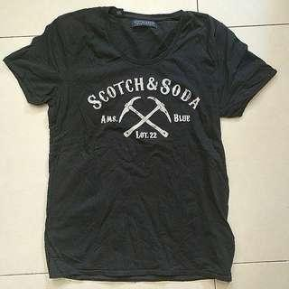 Scotch & Soda tee (size M) 購自連卡佛
