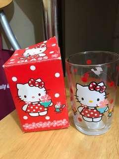 Hello Kitty 玻璃杯1994年