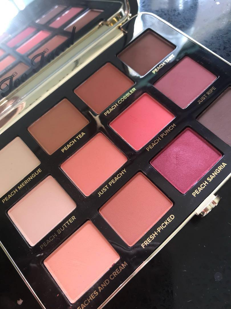 $35 TODAY ONLY Too Faced Peachy Mattes Eyeshadow Palette