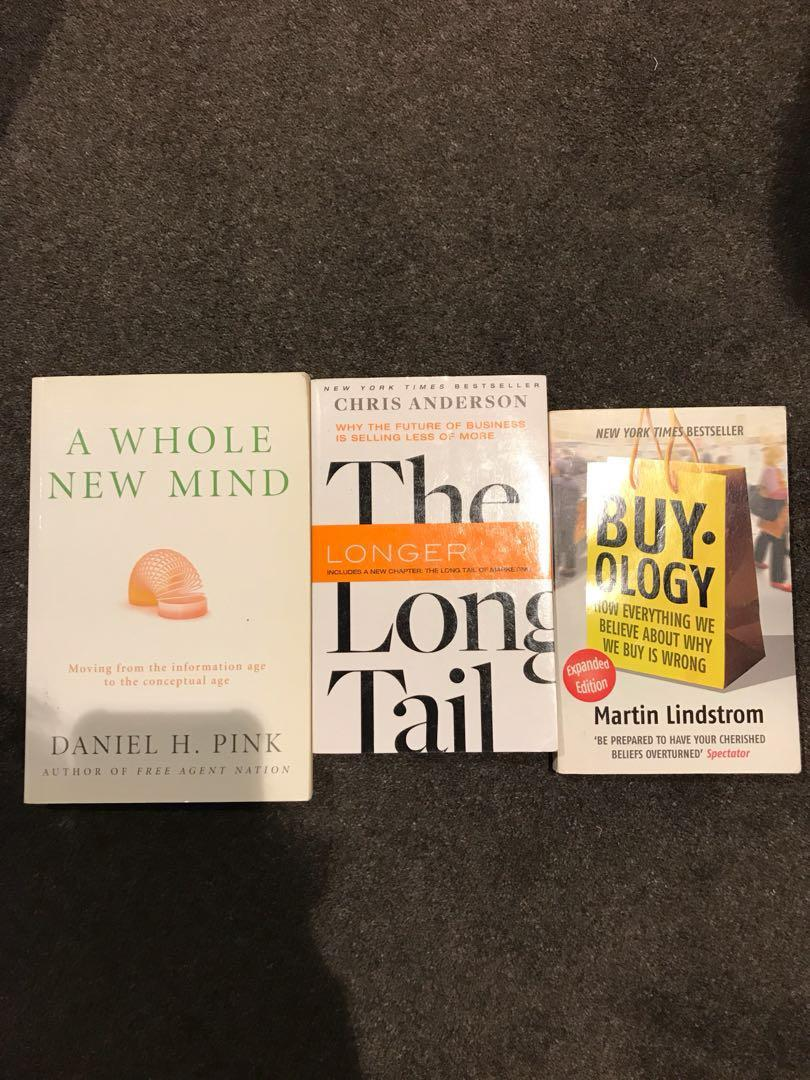 3 business books including 2 New York Times best sellers