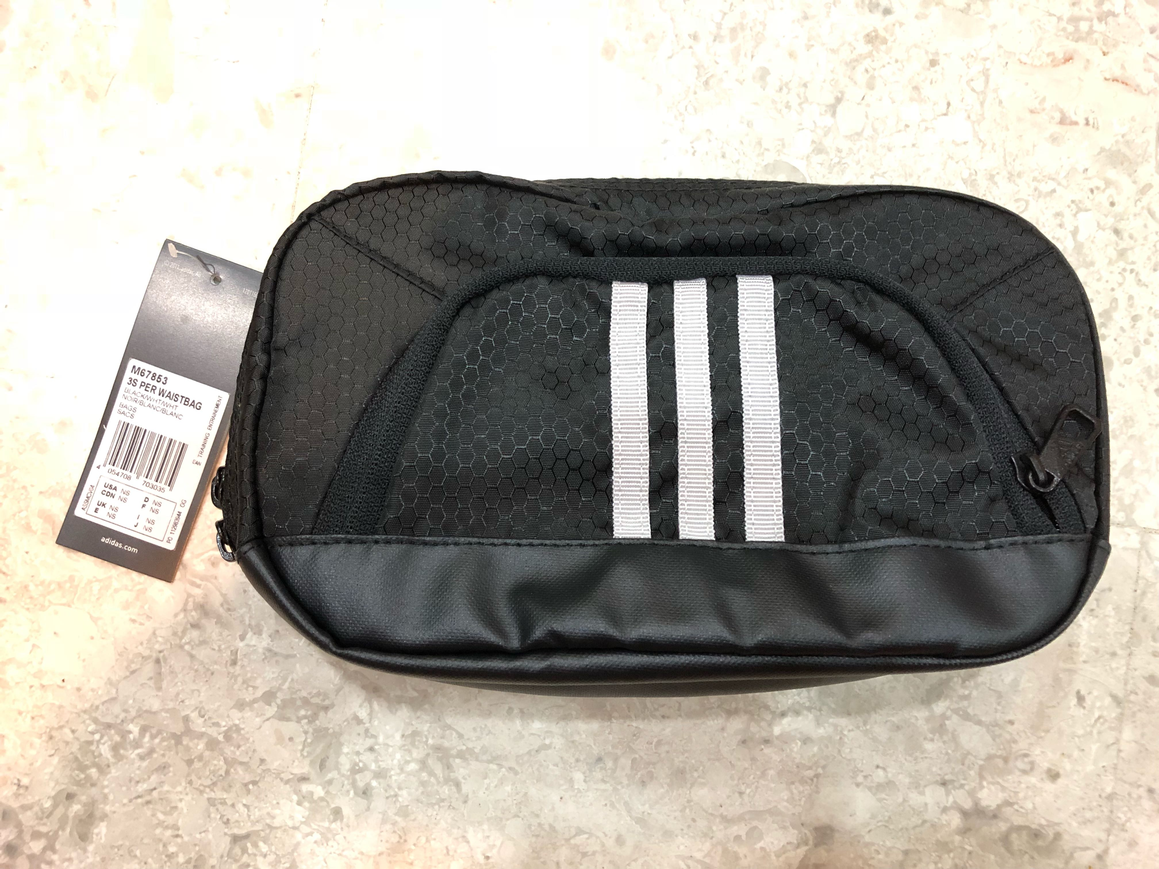 a3a58c4692 Adidas Black Waist Bag