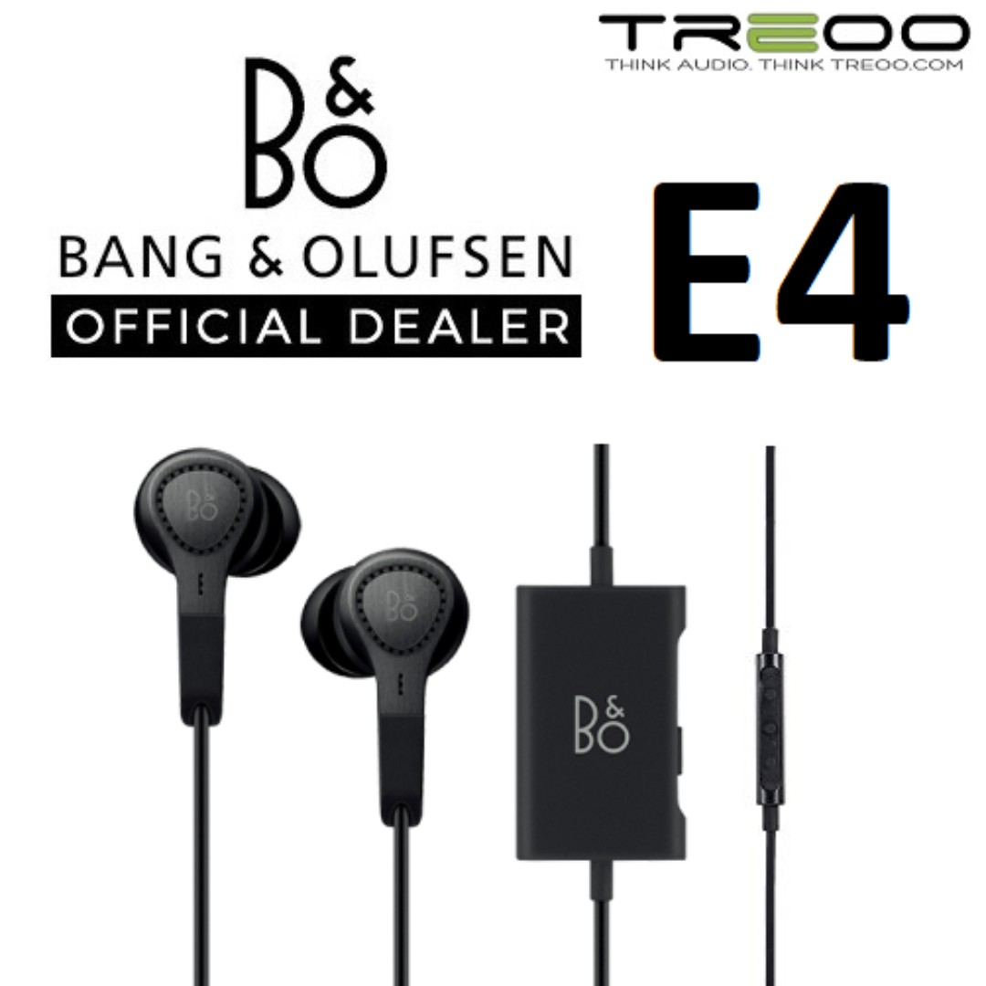 6a4b6fdcf4b Bang & Olufsen Beoplay E4 Noise-Cancelling In-Ear Earphone with ...