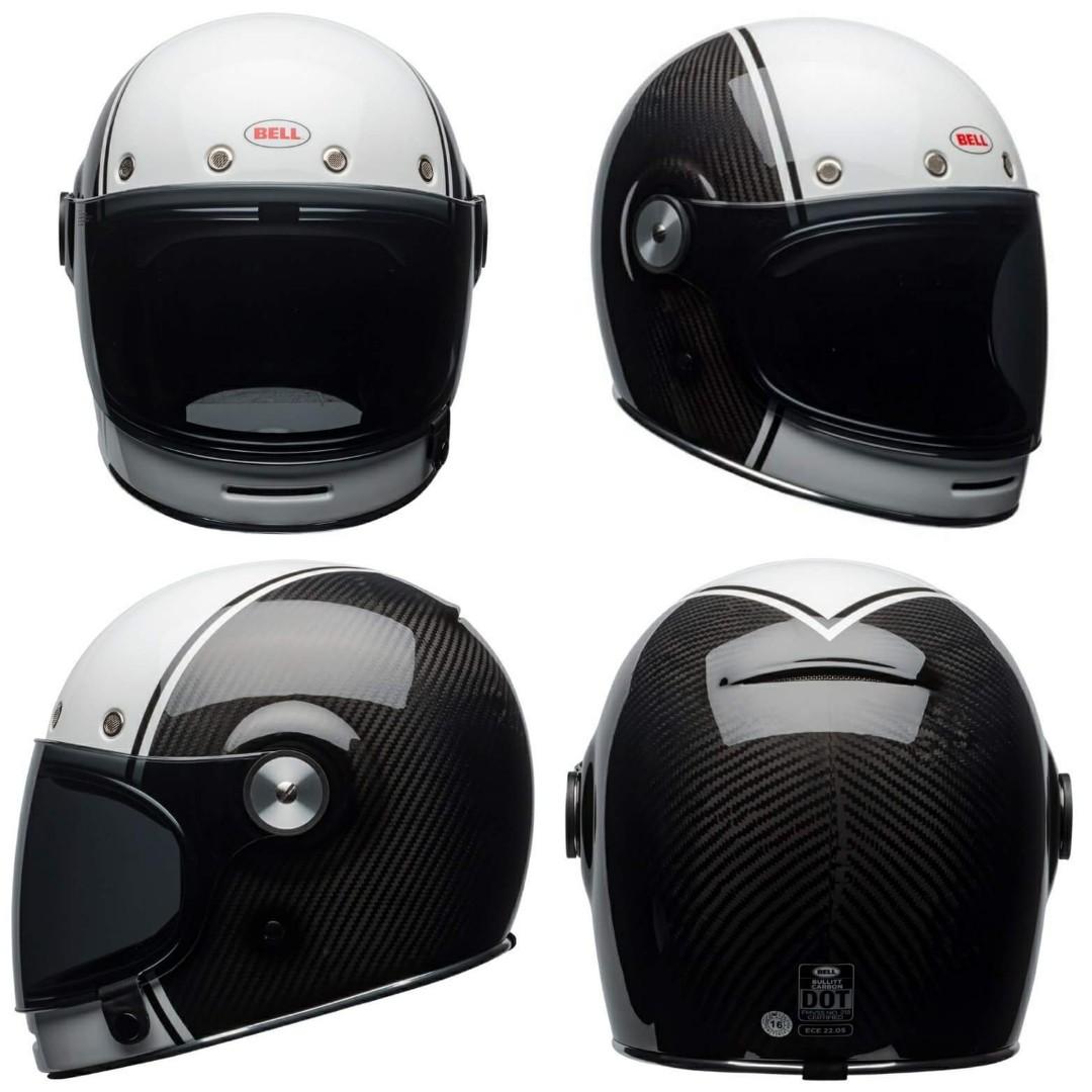 23181c78 Bell bullitt Carbon pierce helmet, Motorbikes, Motorbike Apparel on ...