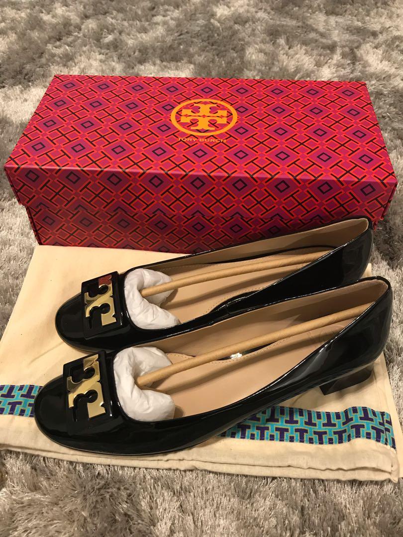 e7033f3aae Bnib Tory Burch gigi patent pumps heels 7.5M, Women's Fashion, Shoes ...