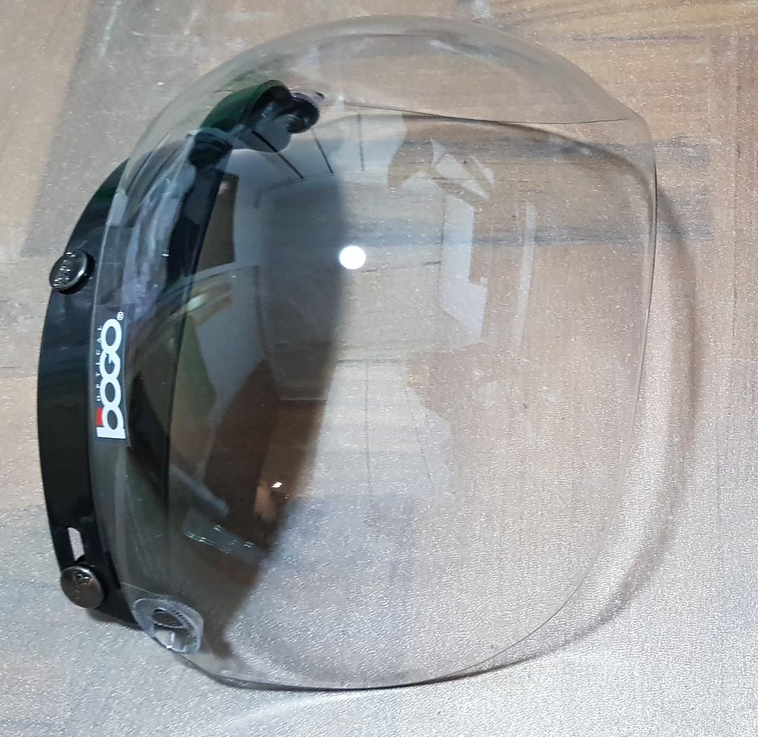e75d404d Bogo bubble clear visor, Motorbikes, Motorbike Accessories on Carousell