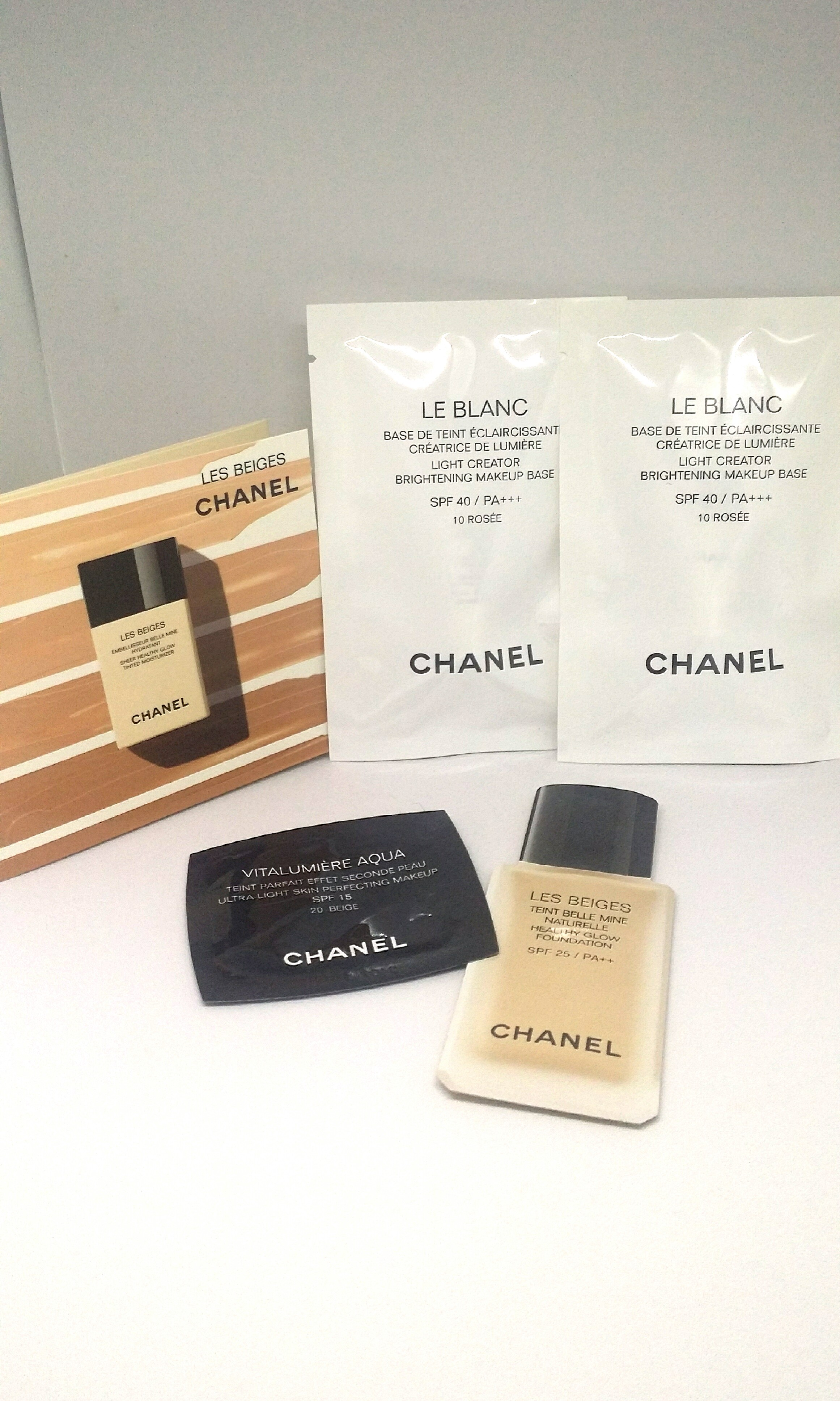 718b97021d0 Chanel Foundation Trial Kit  Samples