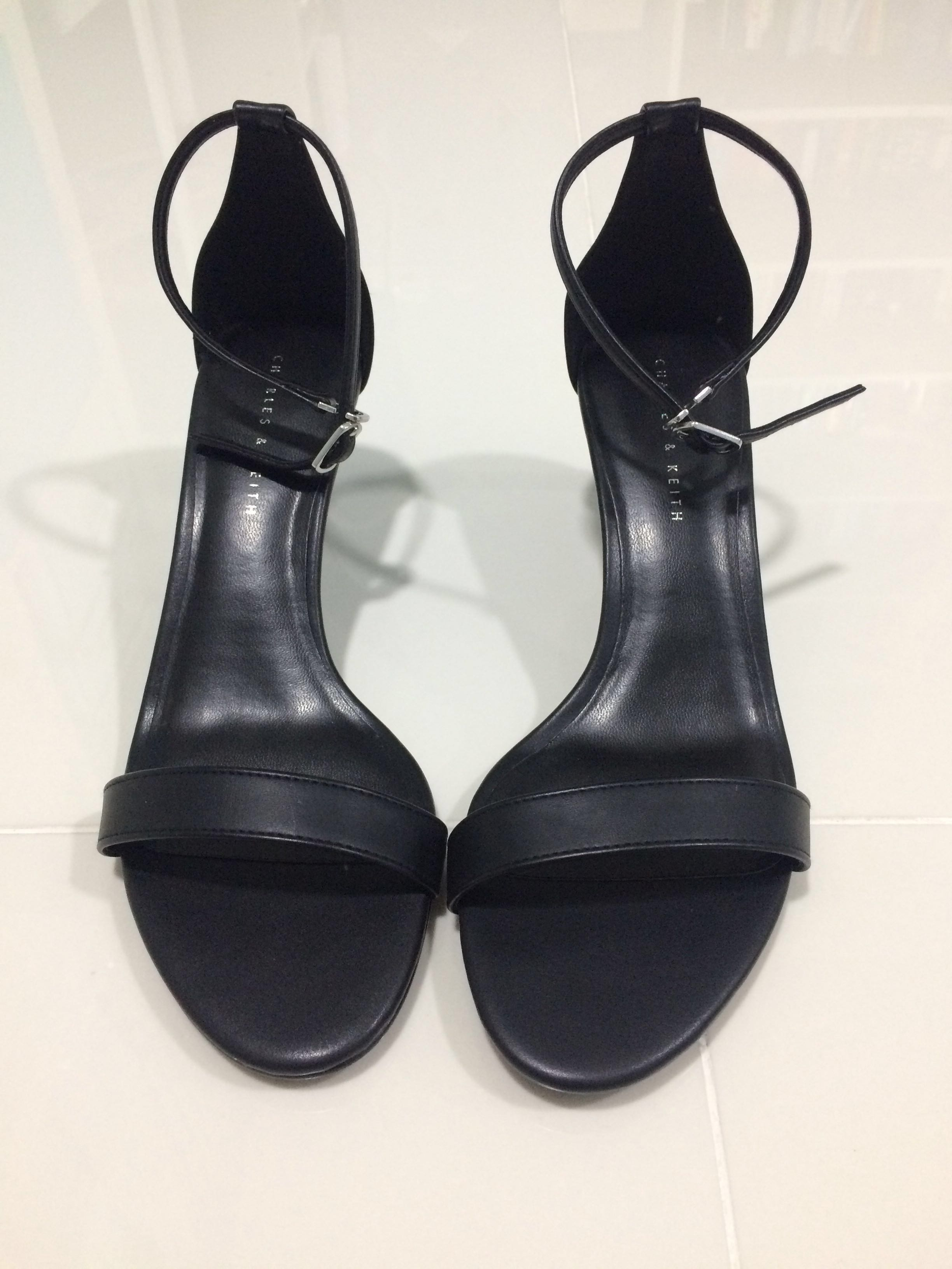 5577a6545f30 Charles & Keith Black Heels, Women's Fashion, Shoes, Heels on Carousell