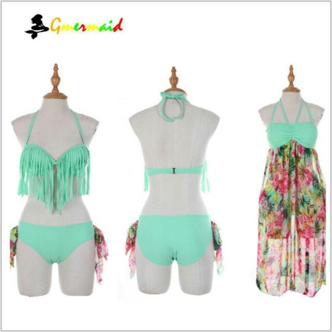 0a9b38b513 clearance sale 3 Pcs Brand New Instock super hot sexy bikini +beachwear,  Women's Fashion, Clothes, Others on Carousell