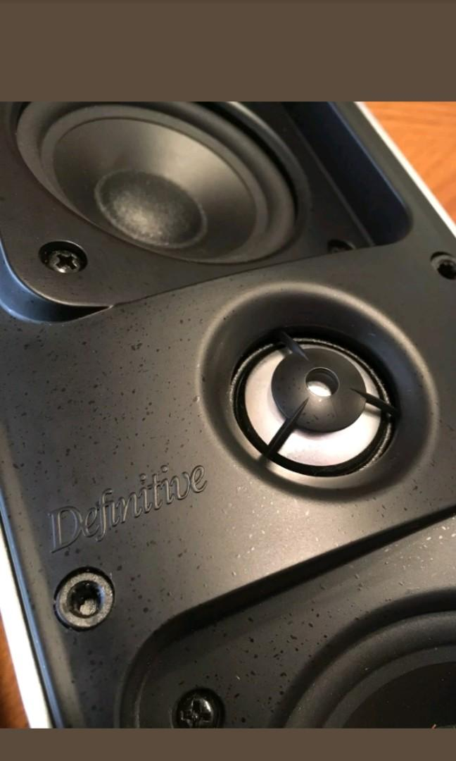Definitive Technology - Mythos Gem Speakers (bundle with 2 speakers cables.)