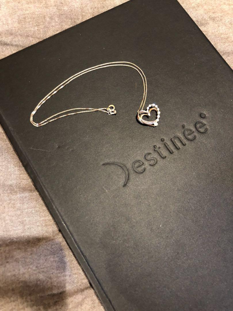 Destinee white gold diamond (Lee Hwa)