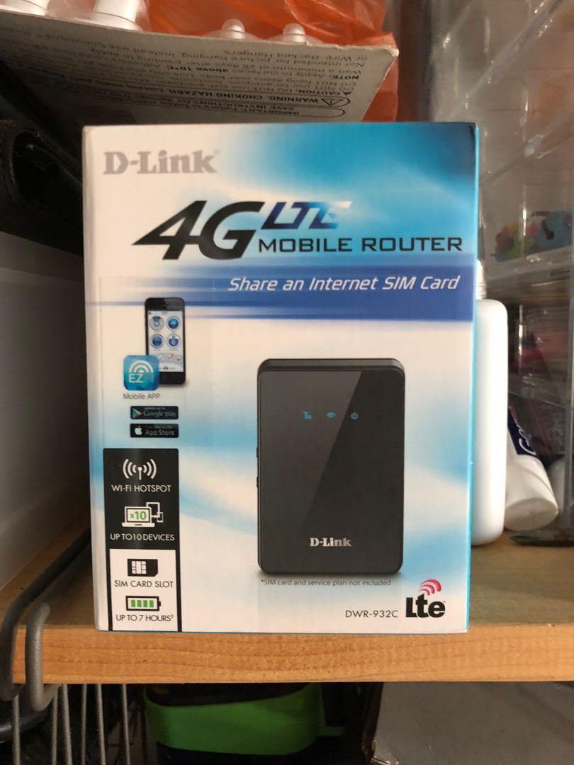 D-Link DWR 932C 4G Lte Router