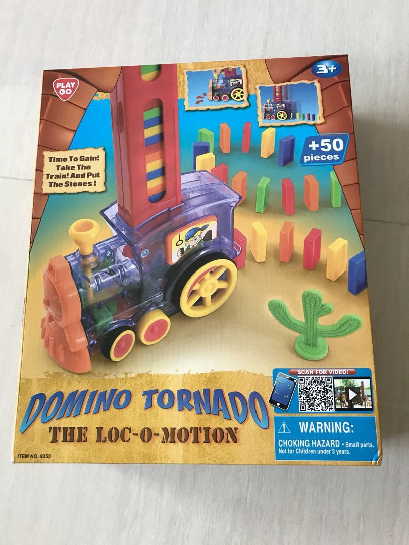 The Loc-O-Motion Domino Tornado