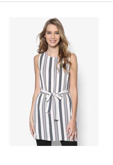 47638b23b4 Dorothy Perkins - Stripe Top, Women's Fashion, Clothes, Tops on ...