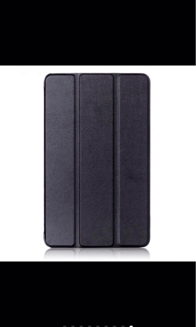 Faux leather cover for kindle fire HD 7 - black