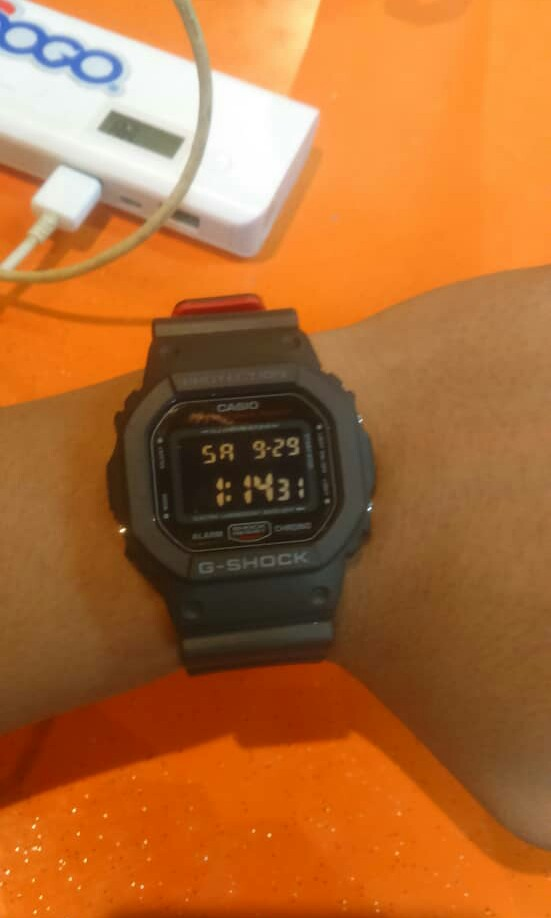 G Shock Dw5600 Hr1 Men S Fashion Watches On Carousell