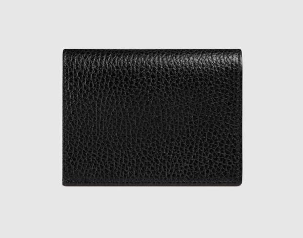 low priced da353 133fd GUCCI Leather card case