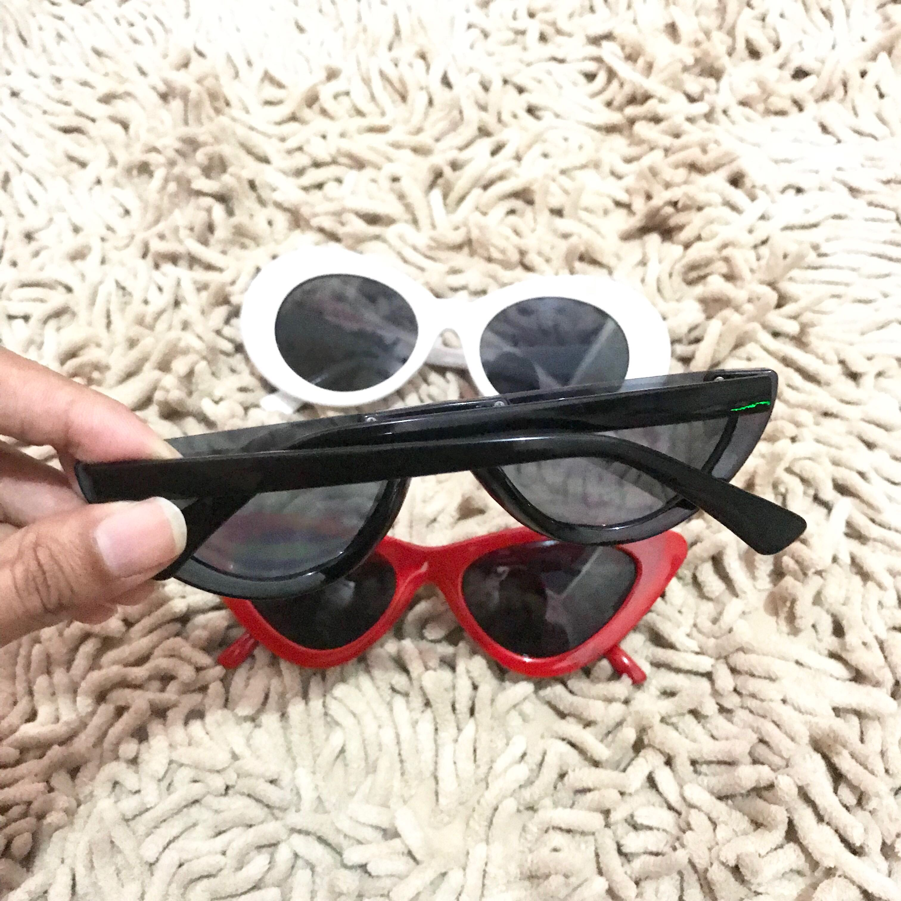 67089cb84d0 Half sunglasses black kacamata watermelon hitam