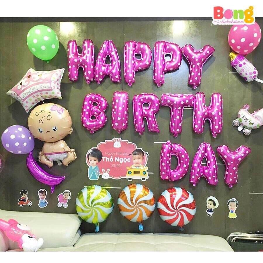 Happy Birthday Balloons Baby Design Craft Others On Carousell