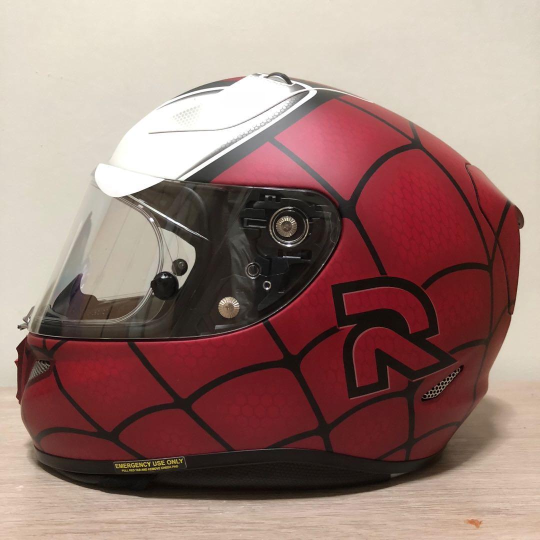 Hjc Rpha 11 Venom Sticker Bahuma Stiker Helm Desain Lorenzo Motorcycle Helmets Source Spider Man Marvel Collection Motorbikes Motorbike