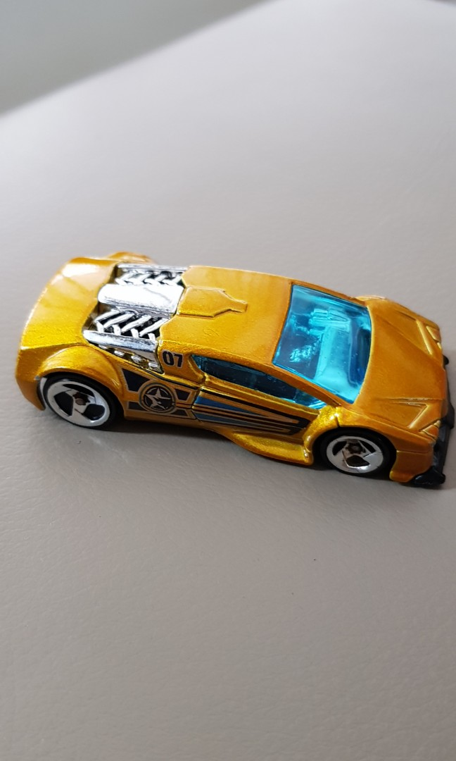 Hotwheels 2002 Zotic Green Lamborghini Police Car Toys Games