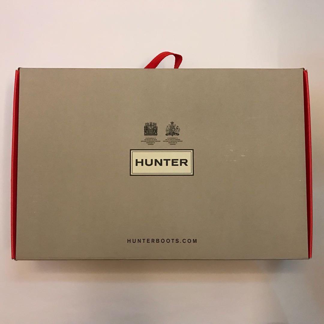 Hunter 35碼黑色雨鞋