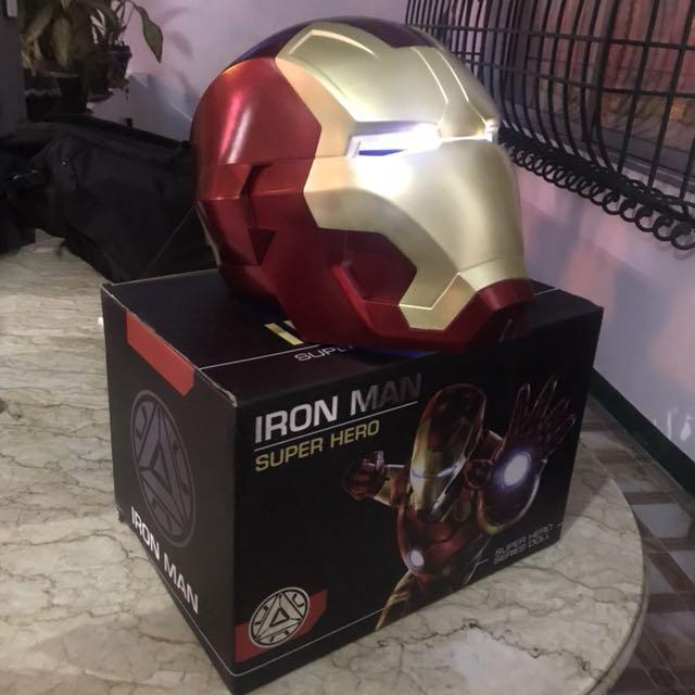 Ironman Helmet Automatic 1 1 Toys Games Toys On Carousell